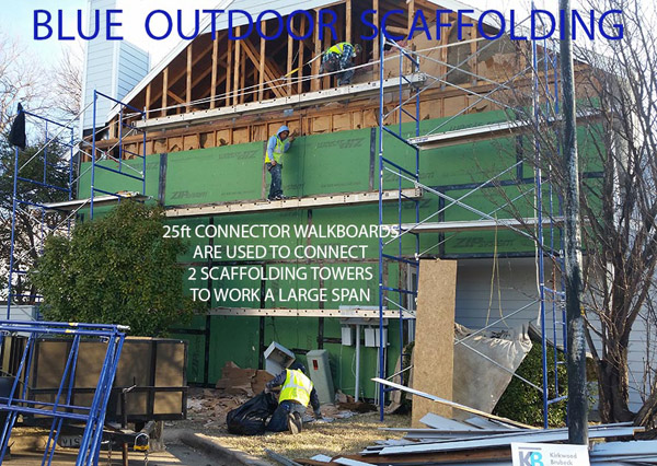 outdoor scaffold